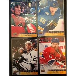 2017-18 Upper Deck Canvas X 4 Shea Wber #C46, Alec