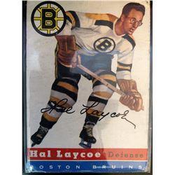 1954-55 Topps Hal Laycoe Card #38 Vintage