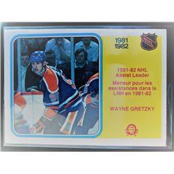 1982-83 O-Pee-Chee Wayne Gretzky Card #240