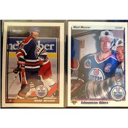Mark Messier X 2 1990-91 Upper Deck #44 And
