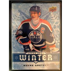 2017 Upper Deck Winter Wayne Gretzky Card #W3