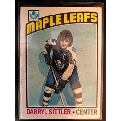 1976-77 Topps Darryl Sittler Card #207