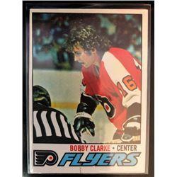 1977-78 Topps Bobby Clarke Card #115
