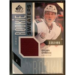 2016-17 SP Game Used Rookie Sweaters Dylan Strome