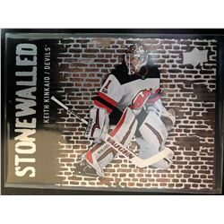 2018-19 Upper Deck Stonewalled Keith Kinkaid