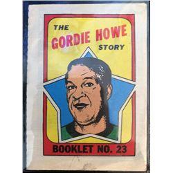 1971-72 Topps Gordie Howe Booklet #23