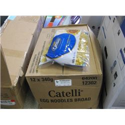 CATELLI - EGG NOODLES 12x240G