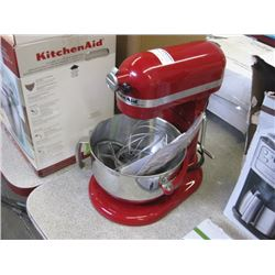 KITCHENAID 6QT - RED MIXER KL26M1XER
