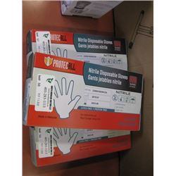 PROTECTALL - NITRILE DISPOSABLE GLOVES