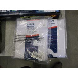 MAYTEX - SUPER HEAVY WEIGHT SHOWER LINER/ CURTAIN x2