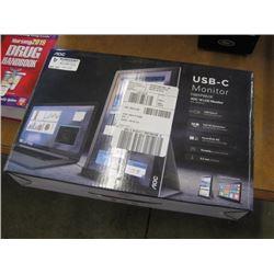 AOC USB-C MONITOR LCD 16 INCH