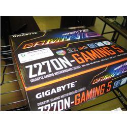 GIGABYTE Z270N GAMING 5 MOTHERBOARD