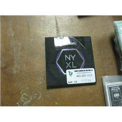 D.ADDARIO NY XL STRINGS