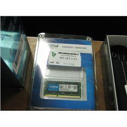 CRUCIAL MEMORY 8GB