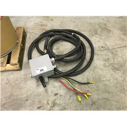 HEAVY DUTY 4 CONDUCTOR ELECTRICAL CABLE WITH JUNCTION BOX