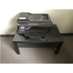 HP OFFICEJET 7610 ALL-IN-ONE PRINTER ON STAND WITH CONTENTS