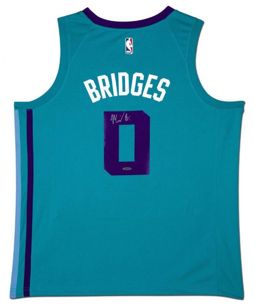 100% authentic 16874 71a1f Miles Bridges Signed Hornets Jersey (UDA COA)