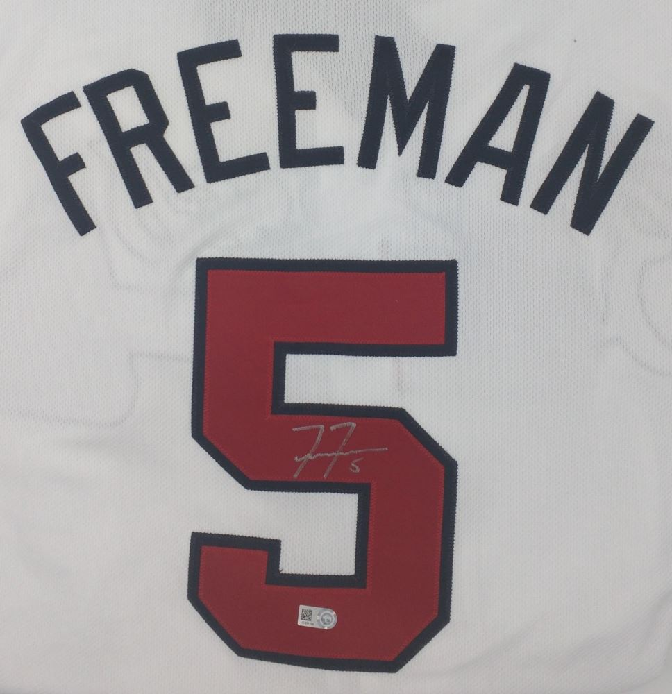 size 40 2a909 04a73 Freddie Freeman Signed Braves Jersey (MLB)