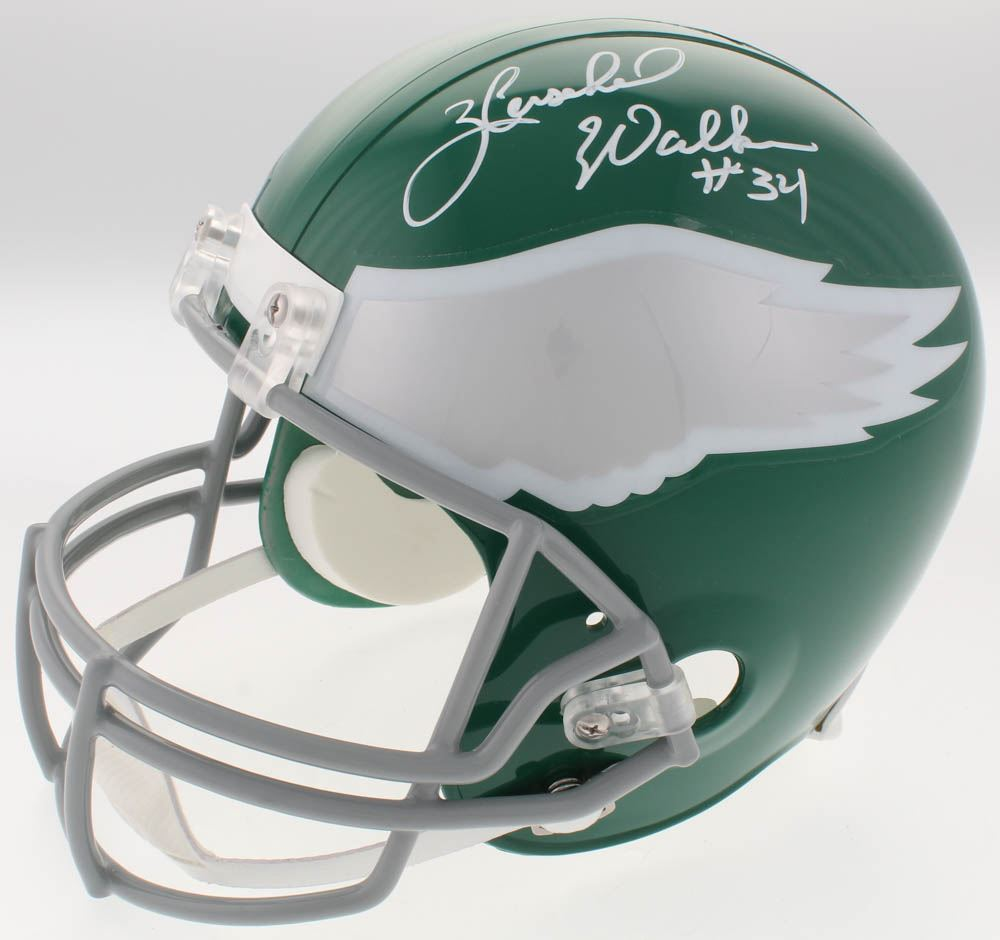 various colors 445b7 fc6f8 Herschel Walker Signed Philadelphia Eagles Full-Size ...