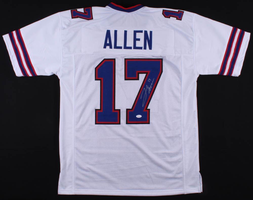 the best attitude dcda4 509cb Josh Allen Signed Buffalo Bills Jersey (JSA COA)