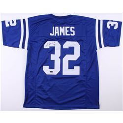 new styles 9cd11 a2a9f Edgerrin James Signed Indianapolis Colts Jersey (Radtke COA)