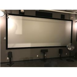 15'X6.5' CINEMA PROJECTION SCREEN