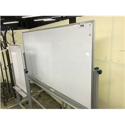 5'X3' MOBILE WHITEBOARD
