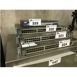 CISCO CATALYST 3750G 48 PORT NETWORK SWITCH