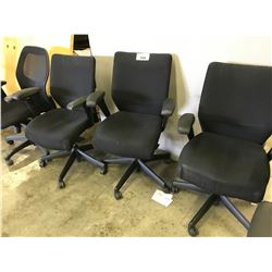 LOT OF 6 OFFICE TASK CHAIRS