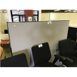 TWO 5'X5' FREE STANDING OFFICE DIVIDERS