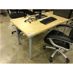 LOT OF APPROX 6 MISC UTILITY TABLES