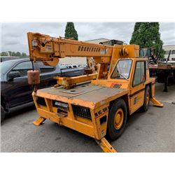 BRODERSON IC-80 CRANE, VIN # 306392, TRUE HRS UNKNOWN, NO REGISTRATION