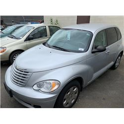 2009 CHRYSLER PT CRUISER, GREY, 4DRHB, GAS, AUTOMATIC, VIN#3A8FY48959T509913, 132,235KMS,