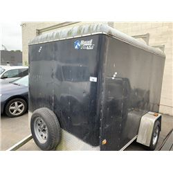 2010 WELLS CARGO UTILITY TRAILER, BLACK, VIN #1W4200D16A4074151, NO ICBC DECLARATIONS