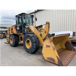 2013 CAT 924K LOADER, YELLOW, VIN # CAT0924KTPWR01855