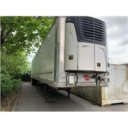 2008 GREAT DANE REEFER TRAILER, WHITE, VIN # 1GRAA06268B705255