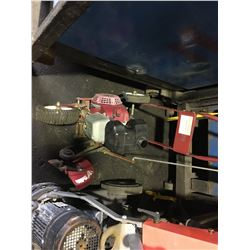 RED GAS EDGER WITH HONDA 3.0 MOTOR