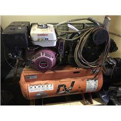 ORANGE CV SYSTEMS IS13- 5530 HORIZONTAL AIR COMPRESSOR WITH HONDA GX390 MOTOR