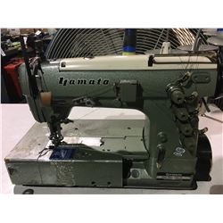 YAMATO DW--1503MD-11 INDUSTRIAL SEWING MACHINE WITH WORKTABLE