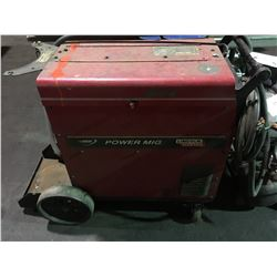 LINCOLN ELECTRIC POWER MIG 255 WIRE FEED WELDER