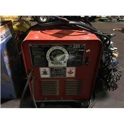 LINCOLN ELECTRIC LINCWELDER AC-255-S ARC WELDER
