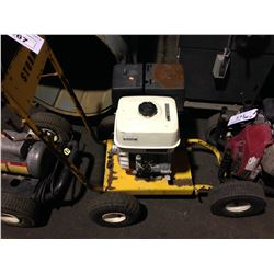 2 MOBILE PRESSURE WASHERS WITH MISSING HOSE AND PARTS
