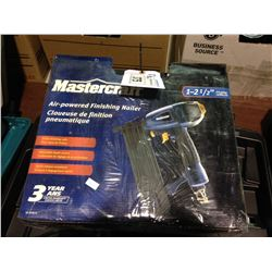 "MASTERCRAFT 1-2 1/2"" AIR POWERED FINISHING NAILER & CRAFTSMAN 18.0VOLT CORDLESS DRILL KIT"