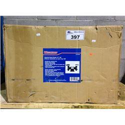 "WESTWARD 10"" SINGLE HP DUAL BENCH GRINDER IN BOX"