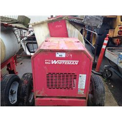 RED WHITEMAN MULTIQUIP ELECTRIC CEMENT MIXER