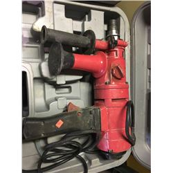 """BLUEROCK TOOLS 4""""Z1 CORE DRILLING MACHINE WITH CASE"""
