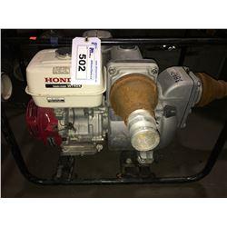 HONDA WT40X GASOLINE TRASH PUMP