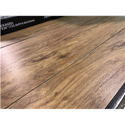 DESIGNER VP W907 COMMERCIAL BEVELED .7MM  DARK MAPLE VINYL PLANK FLOORING