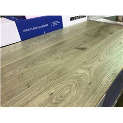 GOLDLEAF WIDE PLANK 9216-5 GREY EVEREST OAK GLUELESS LAMINATE FLOORING