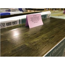 GOLDLEAF 10.8MM 1990C DARK HICKORY GLUELESS LAMINATE FLOORING